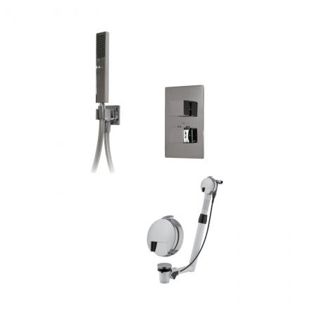 Saneux Tooga 2 Way Square Shower Valve and Kit TP065