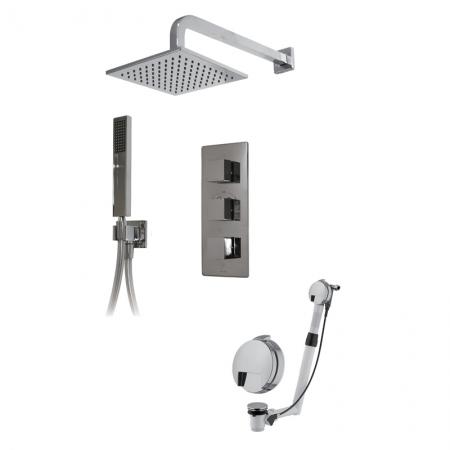Saneux TP068 shower kit for larger baths