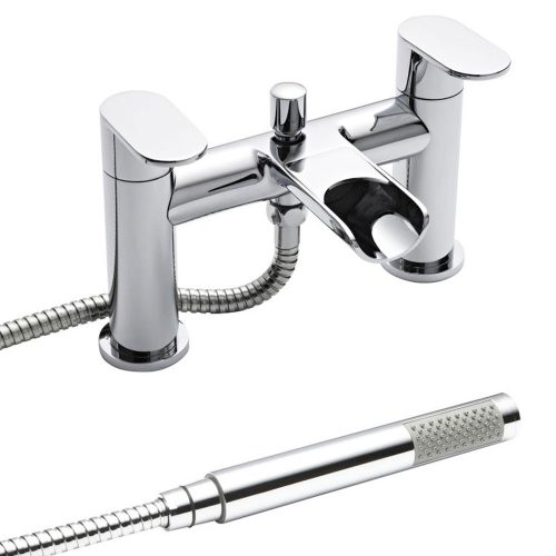 Premier Chrome Flume Bath Shower Mixer FLU314