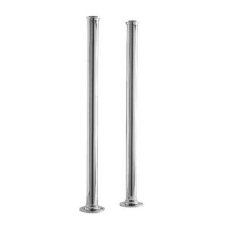 Premier Ultra Chrome Standpipes 660 x 40 Freestanding Legs DA311