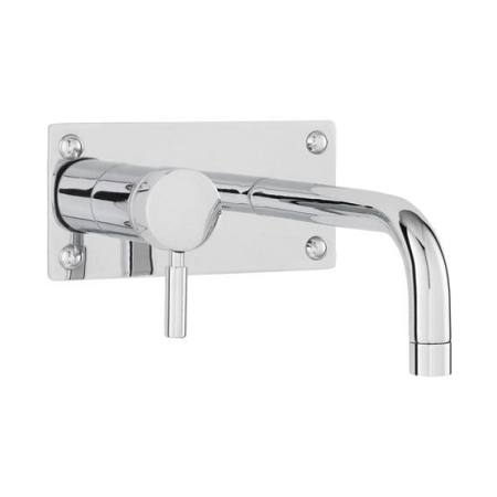 Premier Round Chrome Wall Mtd Basin And Bath Filler PK328