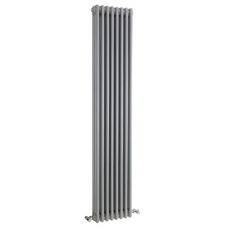 Premier High Gloss Silver Colosseum Triple Radiator HXS12
