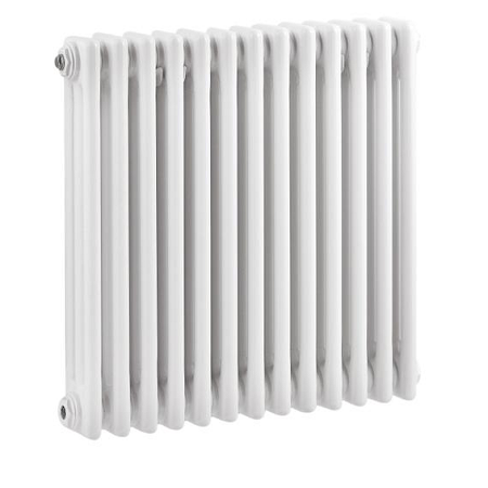 Premier White Colosseum Triple Radiator 600mm x 606mm HX304