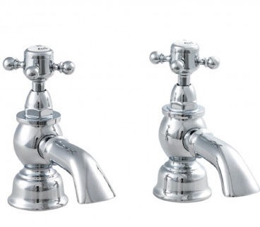 Premier Traditional Chrome York Bath Taps Hf302