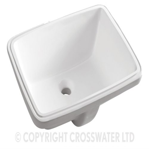 Crosswater Torino A Hidden Basin 510 With Overflow UM0051SCW