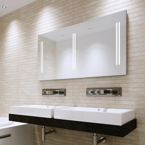 Unico 140 Illuminated LED Bathroom Mirror B004693-0