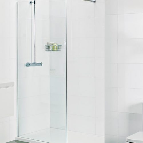 757mm Roman 10mm 800 corner wet room panel V10SP813S