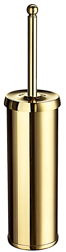 Smedbo Villa Polished Brass Freestanding Toilet Brush V233
