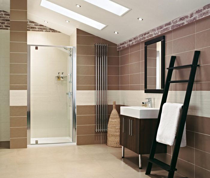 Roman Lumin8 800 Pivot Shower Door V8F13S-0