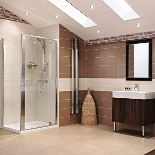 Roman Lumin8 760 Inswing Shower Door V8K7613S-8931