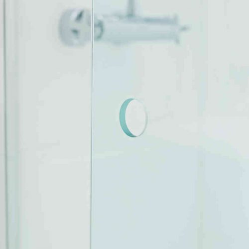 Roman Lumin8 1200mm Wave Walk-In Shower Door V8SPC13S-0