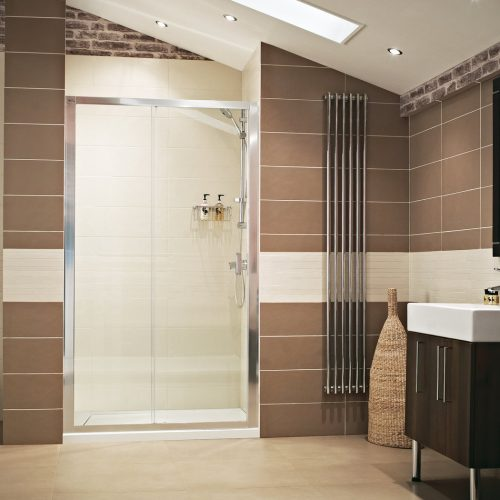 Roman Lumin8 1100 Sliding Shower Door V8T1113S