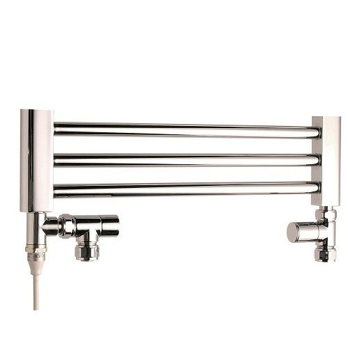 Saneux Chrome Straight Lockshield & Angled Valves VA-1033