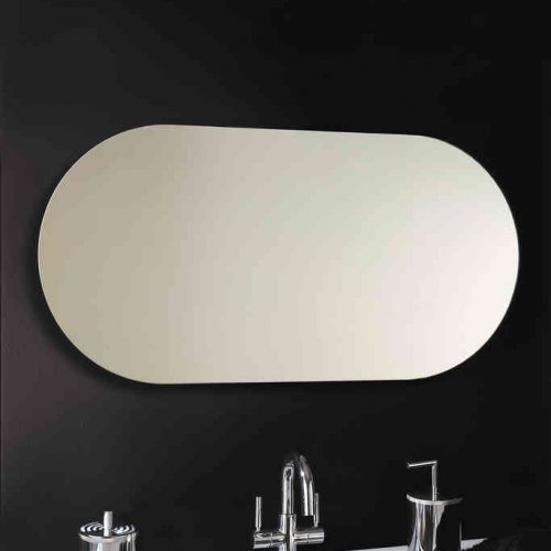 Vasic Capsule Long Oval Mirror 500 x 1000mm VECAP150HV