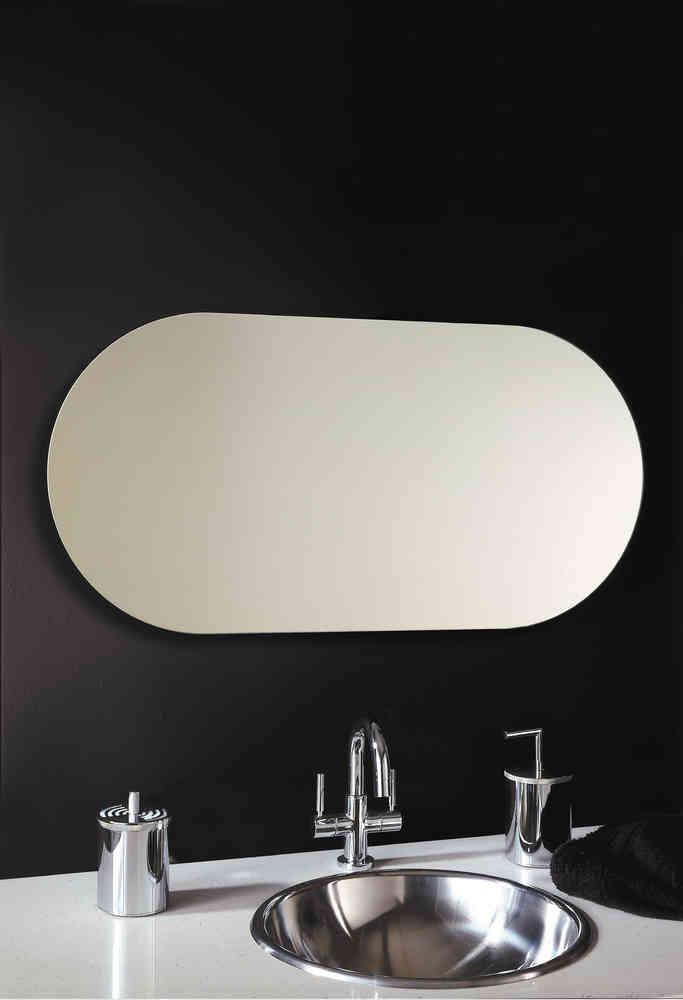 Vasic Capsule Long Oval Mirror 500 x 1000mm VECAP150HV