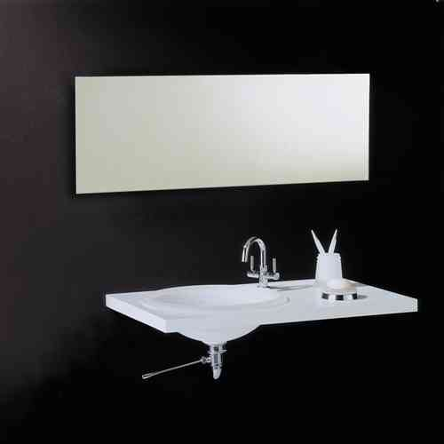 Vasic Rectangular Bathroom Mirror 500mm x 1000mm VE88038