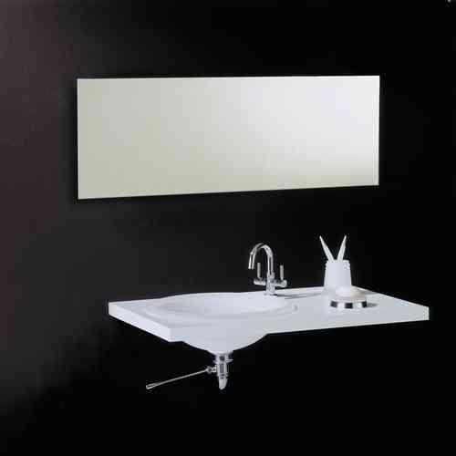 Vasic Rectangular Bathroom Mirror 500mm x 1000mm VE88038