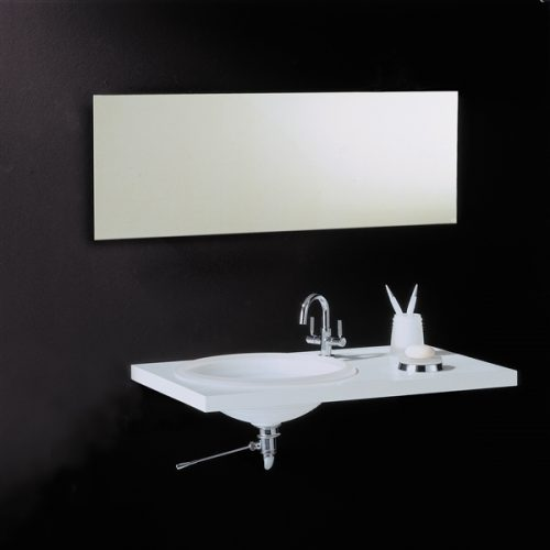 Vasic Slim Rectangular 60 - 600 x 1000mm mirror VE88045