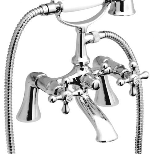 Vado Victoriana exposed bath showr mixer VIC-131/S/CD-C/P