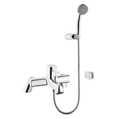Vitra Minimax S Chrome Bath Shower Mixer 76.MBSM