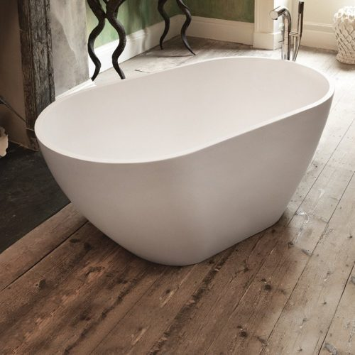 Waters Mist 1535 x 800mm Small Deep Freestanding Bath-0