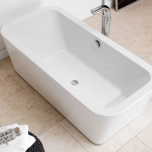 Waters Bracken 1670 x 800mm Double Ended Bath Free Delivery