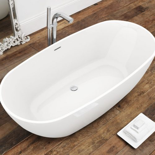 Waters Brook2 1660 x 820mm Double Ended Bath Free Delivery
