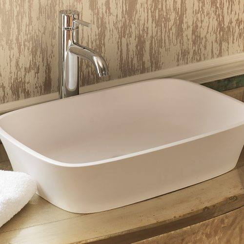 Waters Haze 555 x 355mm Stone Basin Free Delivery