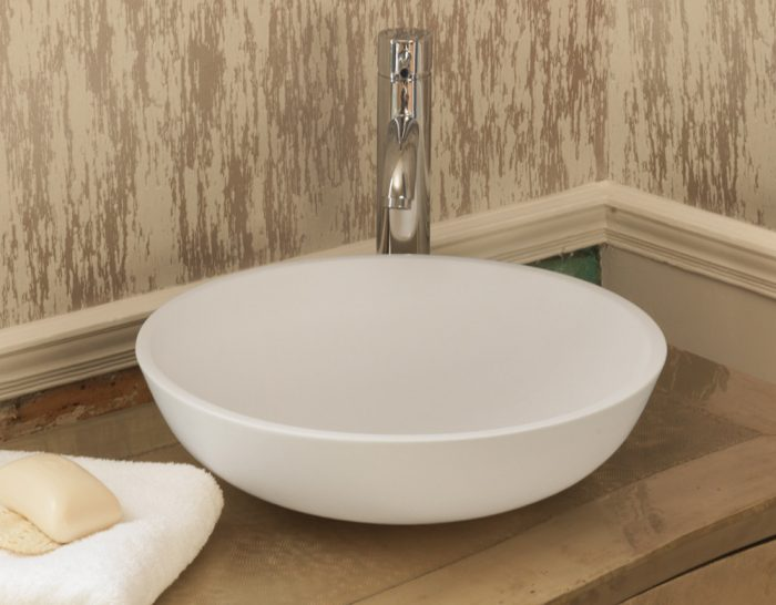 Waters Luna 400 x 400mm Stone Basin Free Delivery