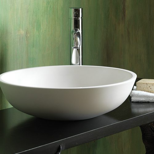 Waters Mist 420 x 420mm Stone basin Free Delivery