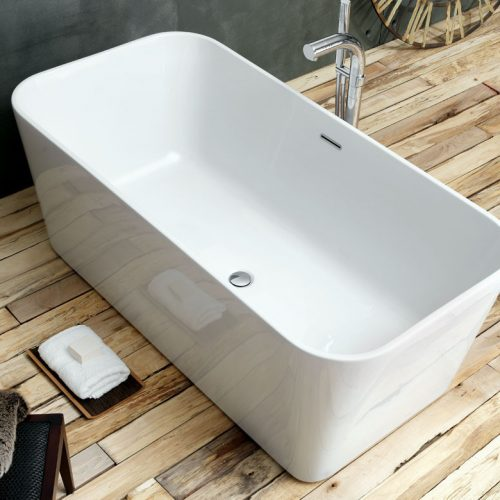 Waters Pool 1600 x 800mm Double Ended Bath Free Delivery