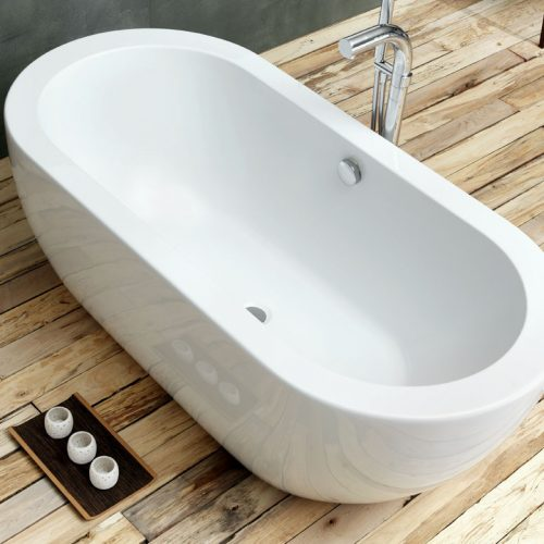 Waters Willow 1690x800mm Double Ended Bath Free Delivery