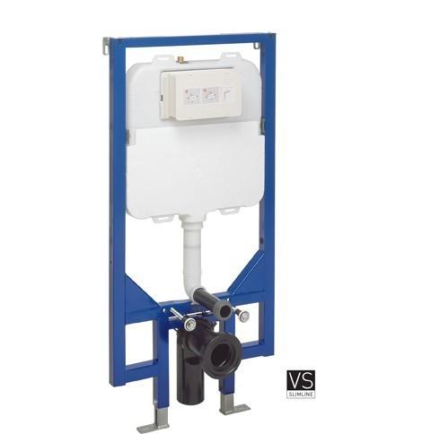 Bauhaus Slim WC Frame & Cistern 1180 X 580mm WCF118X58-VS