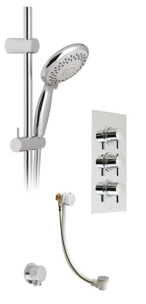 Vado Celsius thermostatic shower pacage WG-CELBOX28/41E/S-CP