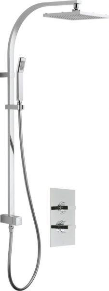 Vado valve & overhead shower package WG-CELBOXNOT/RRK-C/P