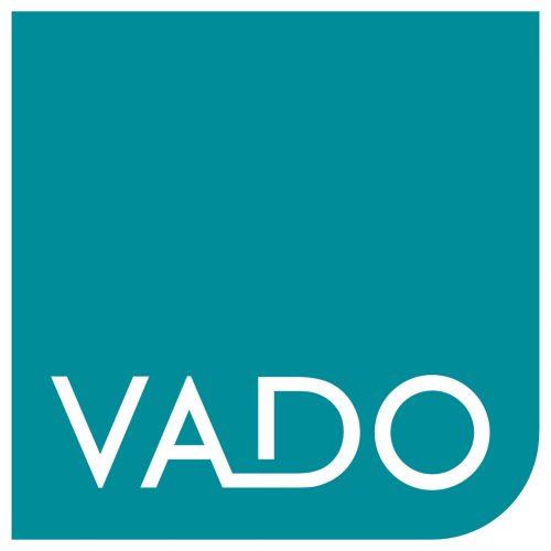Vado single-function shower head with arm WG-SFKIT2-C/P