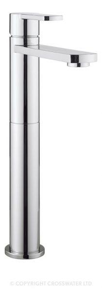 Crosswater Wisp Basin Tall Modern Mixer Tap WP112DNC