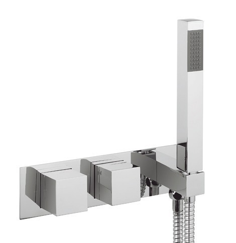 Crosswater Water Square Landscape Shower Valve WS1701RC