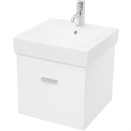 Saneux YLO 48 cm gloss white cabinet Only YLO101