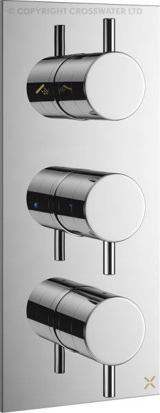 Mike Pro Thermostatic Bath Shower Valve Chrome PRO3000RC