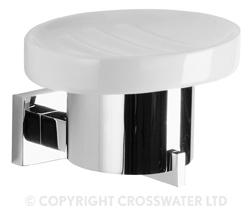 Crosswater Zeya Ceramic Soap Holder ZE005C