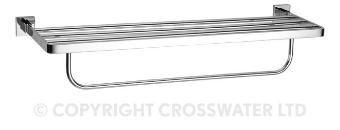 Crosswater Zeya Towel Rail 2 Tier 600mm ZE026C