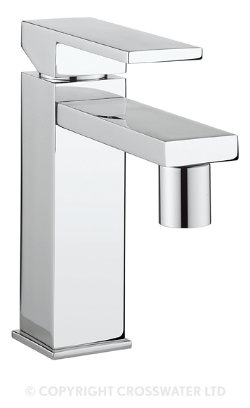 Crosswater Zion Bidet Monobloc NO Pop-Up Waste ZN210DPC