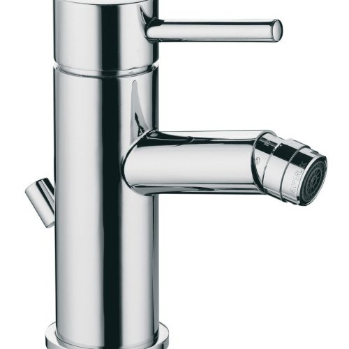 Vado Zoo mono bidet mixer tap with waste ZOO-110-C/P