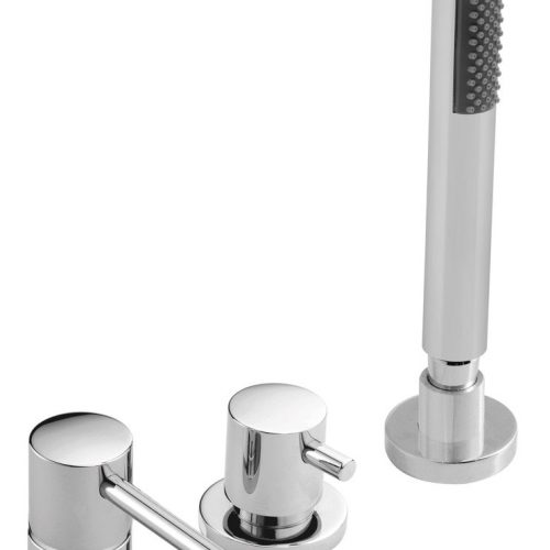 Vado Zoo 4 hole bath shower mixer tap set ZOO-132-C/P