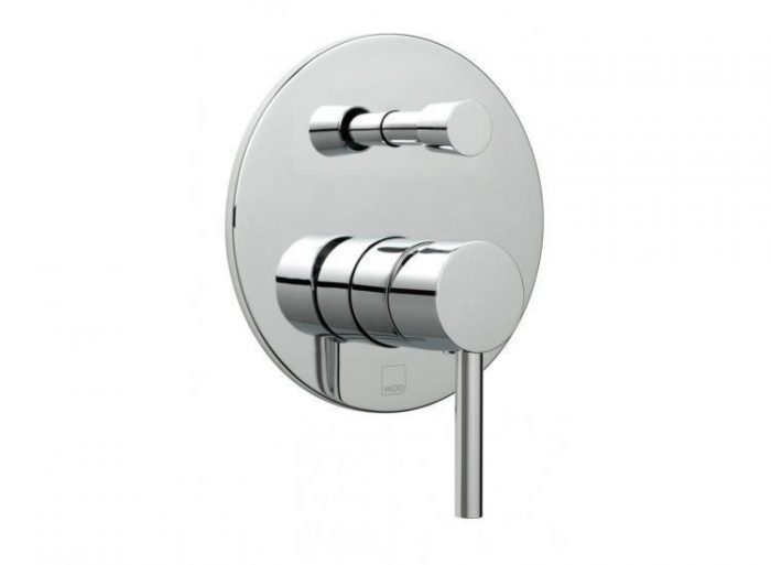 Vado Zoo manual wall shower valve and div ZOO-147A/RO-C/P
