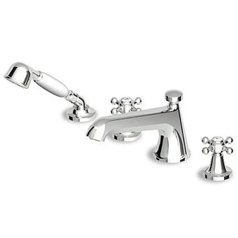 Zucchetti Agora Bath Shower Mixer 4 Hole ZAG486