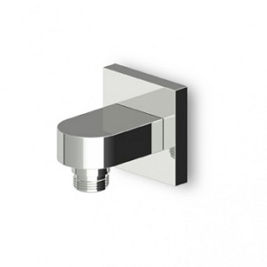 Zucchetti Aguablu Chrome Wall Mounted Elbow Z93804