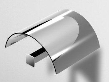 Zucchetti Bellagio Covered Toilet Roll Holder ZAC531