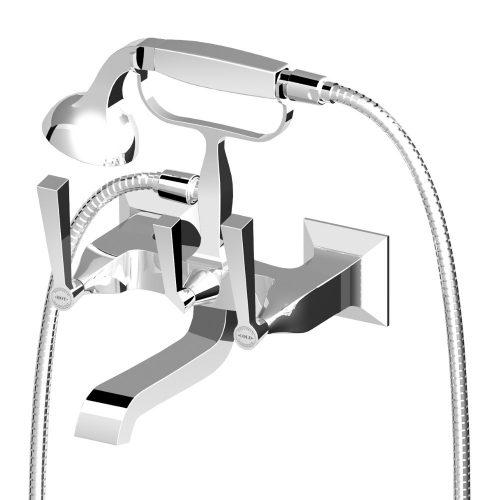 Zucchetti Bellagio Exposed Wall Bath Mounted Shower Mixer